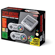 Nintendo Classic Mini - Super Nintendo Entertainment System ( SNES ) - Herní konzole