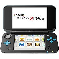 New Nintendo 2DS XL Black & Turquoise - Herní konzole