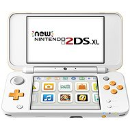 New Nintendo 2DS XL White & Orange - Spielkonsole