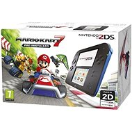 Nintendo 2DS Black & Blue + Mario Kart 7 - Game Console