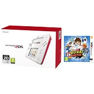 Nintendo 2DS (White Red) + YO-KAI WATCH