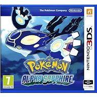Nintendo 3DS - Pokemon Saphir Alpha