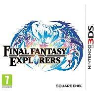 Nintendo 3DS - Final Fantasy Explorers