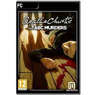 Agatha Christie: The ABC Murders (PC/MAC/LINUX) DIGITAL