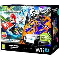 Nintendo Wii U Black Premium Pack (32GB) + Mario Kart 8 + New Super Mario and Luigi