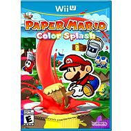 Color Splash Paper Mario - Nintendo Wii U
