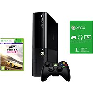 Microsoft Xbox 360 500 GB (Reface Edition) + Forza Horizon 2 (Voucher) + 1 month Xbox Live Gold - Game Console