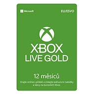Microsoft Xbox Live 12 Month Gold Membership Card (Digital Code) - Xbox Live Gold Membership card