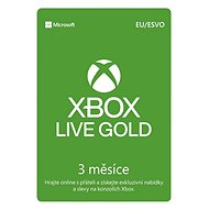 Microsoft Xbox 360 Live 3 Month Gold Membership Card (Digital Download) - Xbox Live Gold Membership card