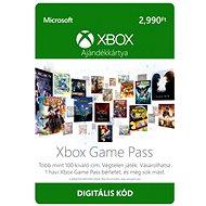 Microsoft Xbox Game Pass - měsíční členství HU - Dobíjecí kupón