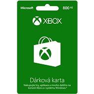 Microsoft Xbox Live-Geschenkkarte im Wert von 800 CZK