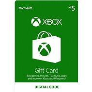 Microsoft Xbox Live Dárková karta v hodnotě 5 Eur