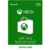 Microsoft Xbox Live-Geschenkkarte im Wert von 25 Euro