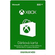 Xbox Live Dárková karta v hodnotě 800Kč - Dobíjecí kupón