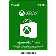 Microsoft Xbox Live Gift Card 5990Ft - Dobíjecí kupón