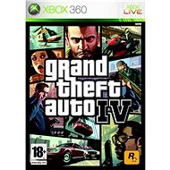 Grand Theft Auto IV - Xbox 360 - Console Game