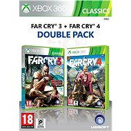 Xbox 360 - Far Cry 3 + Far Cry 4 CZ