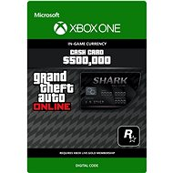 Grand Theft Auto V Bull Shark Cash Card - Xbox One DIGITAL - Herní doplněk