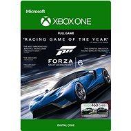 Forza Motorsport 6 - C2C- Xbox One - Hra pro konzoli