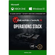 Gears of War 4: Operations Stack - (Play Anywhere) DIGITAL - Hra pro PC i konzoli