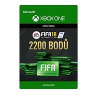 FIFA 18: Ultimate Team FIFA Points 2200 - Xbox One Digital - Herní doplněk