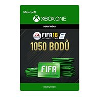 FIFA 18: Ultimate Team FIFA Points 1050 - Xbox One Digital - Herní doplněk
