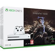 Microsoft Xbox One S 500GB Middle-Earth: Shadow of War - Herní konzole