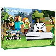 Microsoft Xbox One S 500GB Minecraft Edition - Spielkonsole
