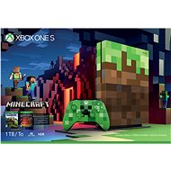 Microsoft Xbox One S 1TB Minecraft Limited Edition - Game Console