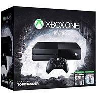 Microsoft Xbox One 1TB + Rise of Tomb Raider + Tomb Raider Definitive Edition - Herní konzole