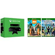 Microsoft Xbox One with Kinect sensor + 2 games