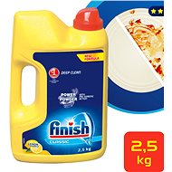 FINISH prášek Power Powder Citrón 2,5 kg - Prášek do myčky