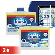 FINISH Dishwasher Cleaner Lemon Duo 250 ml