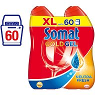 SOMAT Gold Gel NeutralFresh 2x600 ml