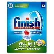 FINISH All in 1 Lemon 52 ks - Tablety do myčky