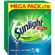 SUNLIGHT All in 1 (78 ks) - Tablety do umývačky