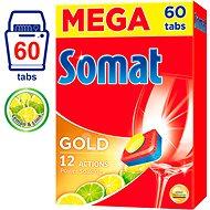 SOMAT Gold Lemon & Lime 60 ks - Tablety do myčky