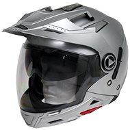 Cyber US-101 stříbrná 5v1 M - Helma