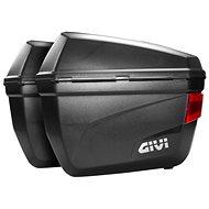 GIVI E 22N bočné kufre čierne - 1 pár kufrov ľavý + pravý (MONOKEY) - moto kufor