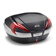 GIVI V 56NN kufr Maxia 4 černý (Monokey) s červenými odrazkami a černým víkem, objem 56 ltr.