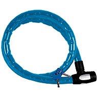 OXFORD zámek na motocykl Barrier, (modrý, vyztužený, délka 1,5m) - Příslušenství