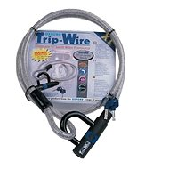 OXFORD zámek na motocykl TripWire XL, (stříbrný, délka 1,6m, průměr 15mm) - Příslušenství