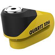 OXFORD zámek kotoučové brzdy Quartz XD6, (černý/žlutý, průměr čepu 6mm) - Příslušenství
