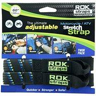 OXFORD popruhy ROK straps HD nastavitelné a zesílené, (černá/modrá/zelená, šířka 25mm, pár) - Příslušenství
