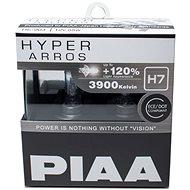 Autožárovky PIAA Hyper Arros 3900K H7 - o 120 procent vyšší svítivost, zvýšený jas - Auto-Glühlampe