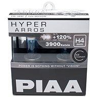Autožárovky PIAA Hyper Arros 3900K H4 - o 120 procent vyšší svítivost, zvýšený jas - Auto-Glühlampe