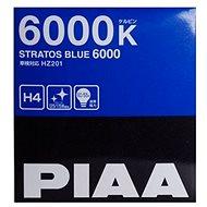 Autožárovky PIAA Stratos Blue 6000K H4 - studené bílé světlo s xenonovým efektem - Auto-Glühlampe