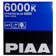 Autožárovky PIAA Stratos Blue 6000K H7 - studené bílé světlo s xenonovým efektem - Auto-Glühlampe
