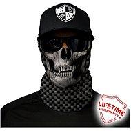 SACO Face shield - Carbon fiber skull