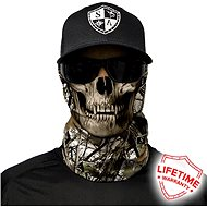 SACO Face shield - Snow Camo Skull - Tuch